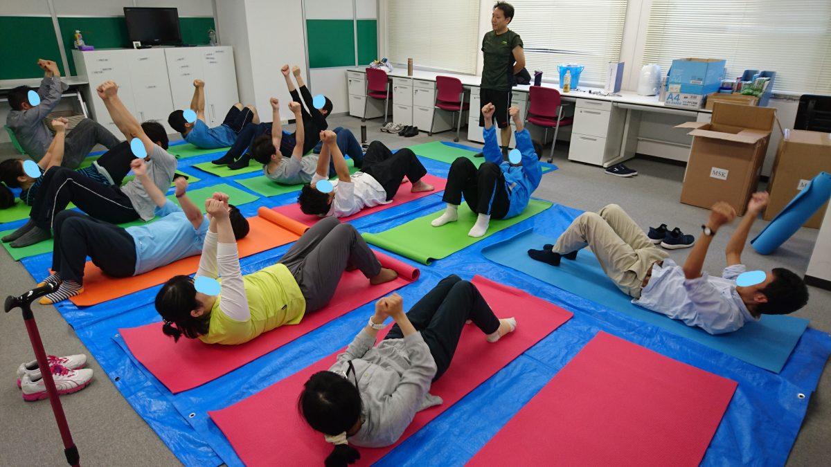 <お知らせ>『体幹エクササイズ講座』始めました!@千葉東